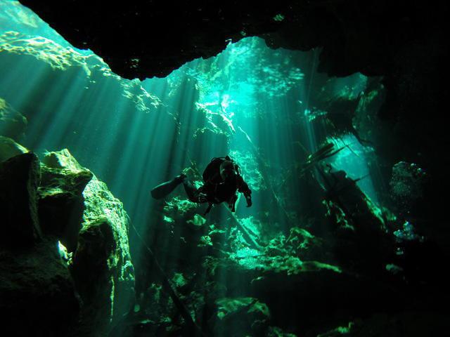 Diving in Isla Mujeres, Mexico - By Angel Luis Mula Jordan