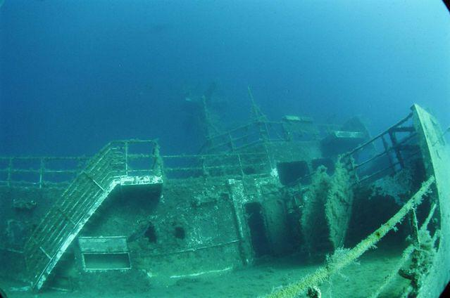 Diving in Cyprus, Larnaca - By Clive Temple